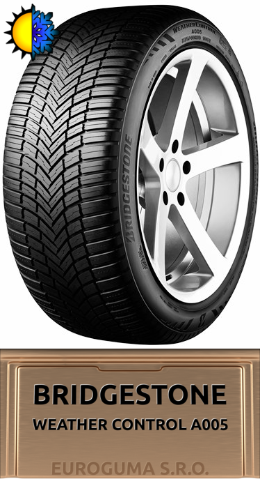 BRIDGESTONE WEATHER CONTROL A005 185/60 R15 88V XL