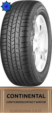 CONTINENTAL CONTICROSSCONTACT WINTER 275/40 R22 108V FR XL