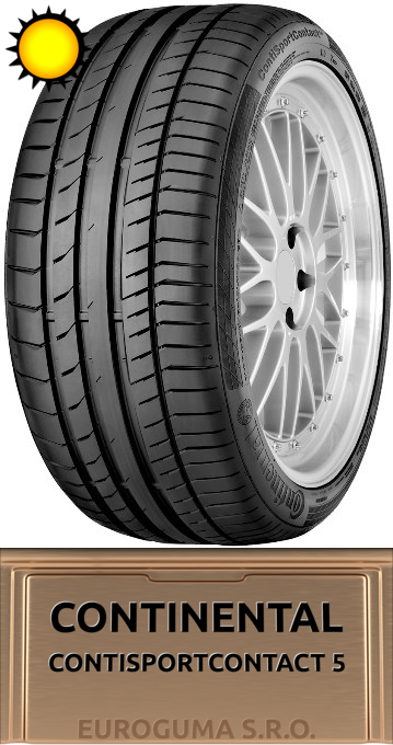 CONTINENTAL CONTISPORTCONTACT 5 235/55 R19 101V FR
