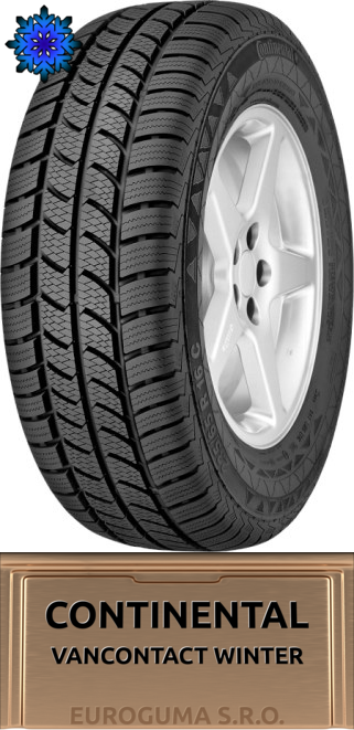 CONTINENTAL VANCONTACT WINTER 215/65 R15C 104/102 T C