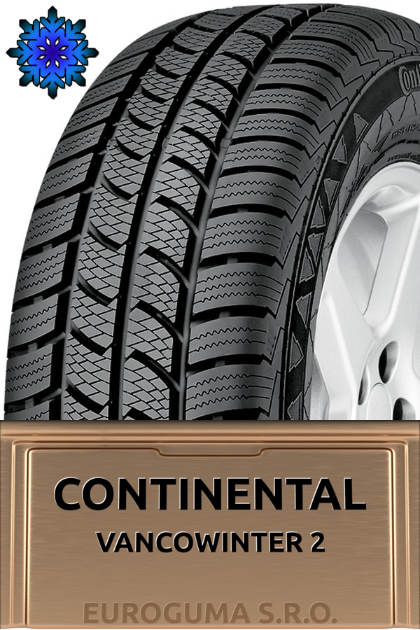 CONTINENTAL VANCOWINTER 2 195/70 R15 97T XL