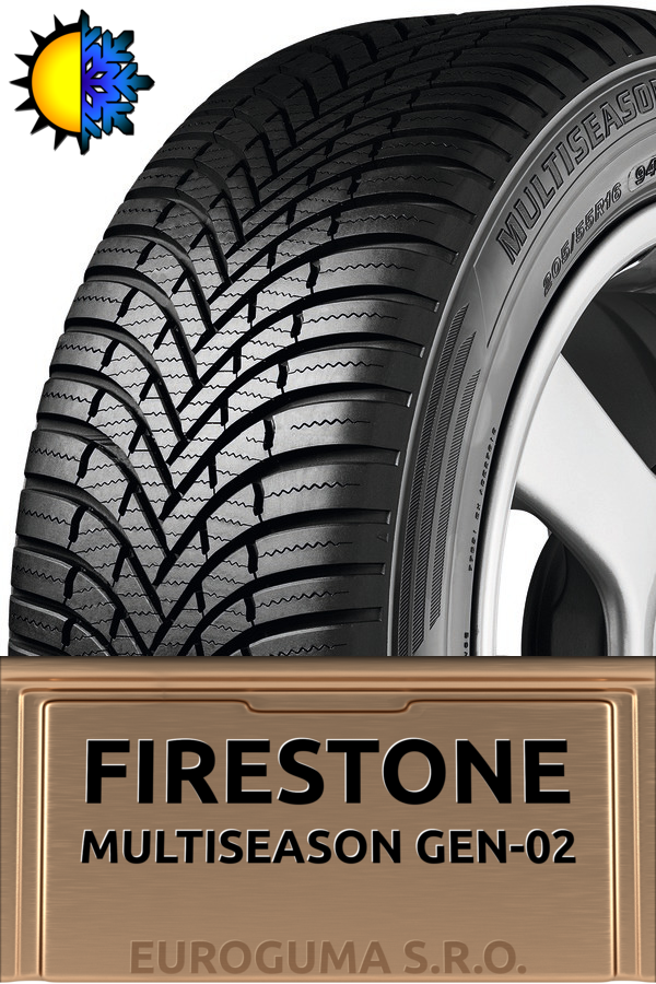 FIRESTONE MULTISEASON GEN-02 155/70 R13 75T