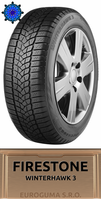 FIRESTONE WINTERHAWK 3 225/50 R17 98V FR XL