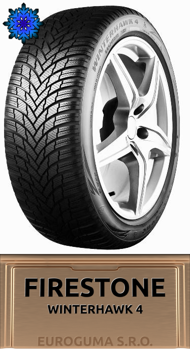 FIRESTONE WINTERHAWK 4 165/70 R14 85T XL