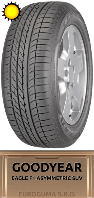 GOODYEAR EAGLE F1 ASYMMETRIC SUV 255/55 R18 109Y AUDI XL