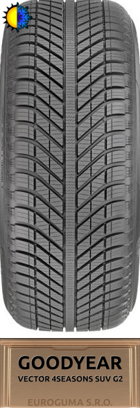 GOODYEAR VECTOR 4SEASONS SUV G2 255/55 R18 109V M+S MFS XL