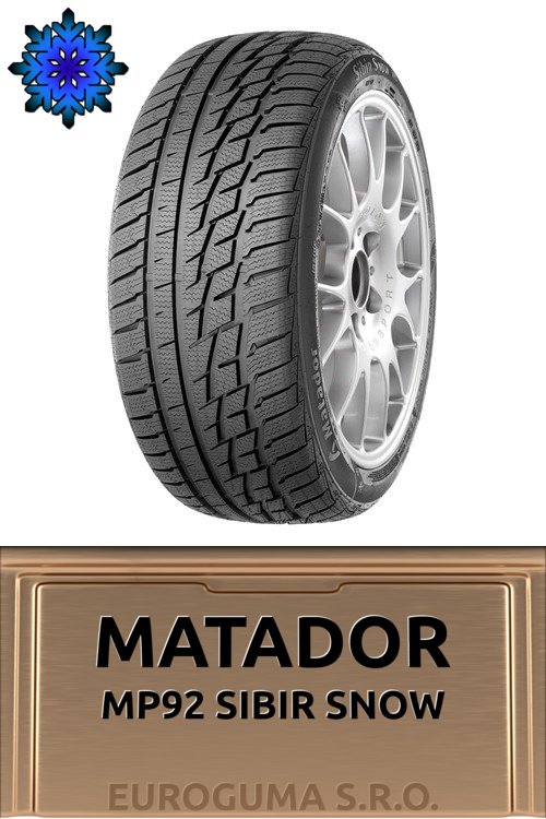 MATADOR MP92 SIBIR SNOW 195/65 R15 91H