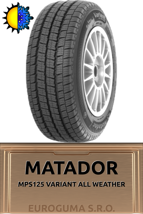MATADOR MPS125 VARIANT ALL WEATHER 205/70 R15C 106/104 R C M+S