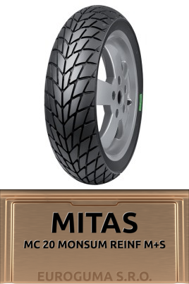 MITAS MC 20 MONSUM REINF M+S 120/70-12 58P