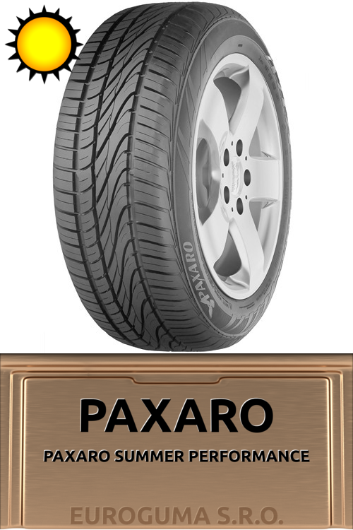 PAXARO PAXARO SUMMER PERFORMANCE 185/55 R15 82H