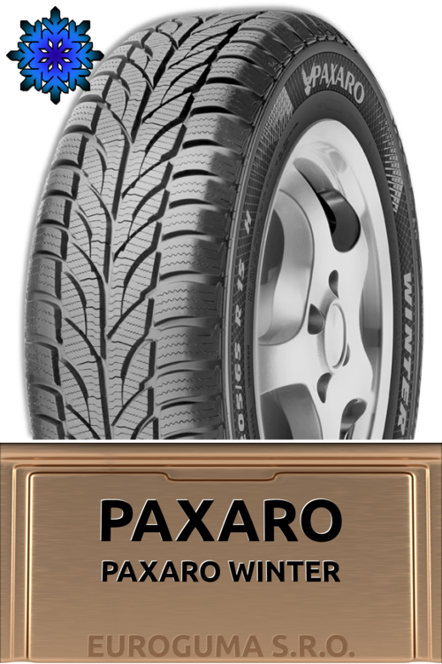 PAXARO PAXARO WINTER 165/70 R14 81T