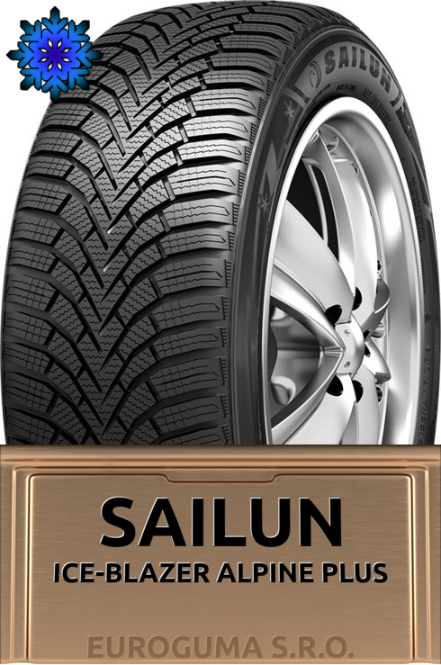 SAILUN ICE-BLAZER ALPINE PLUS 195/65 R15 91T