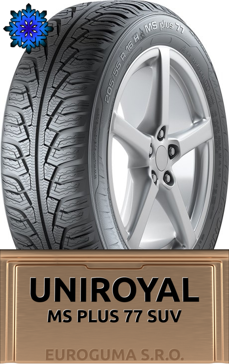 UNIROYAL MS PLUS 77 SUV 235/60 R18 107V FR XL